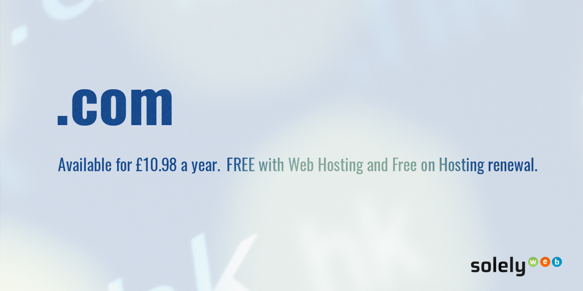 com domain name extension