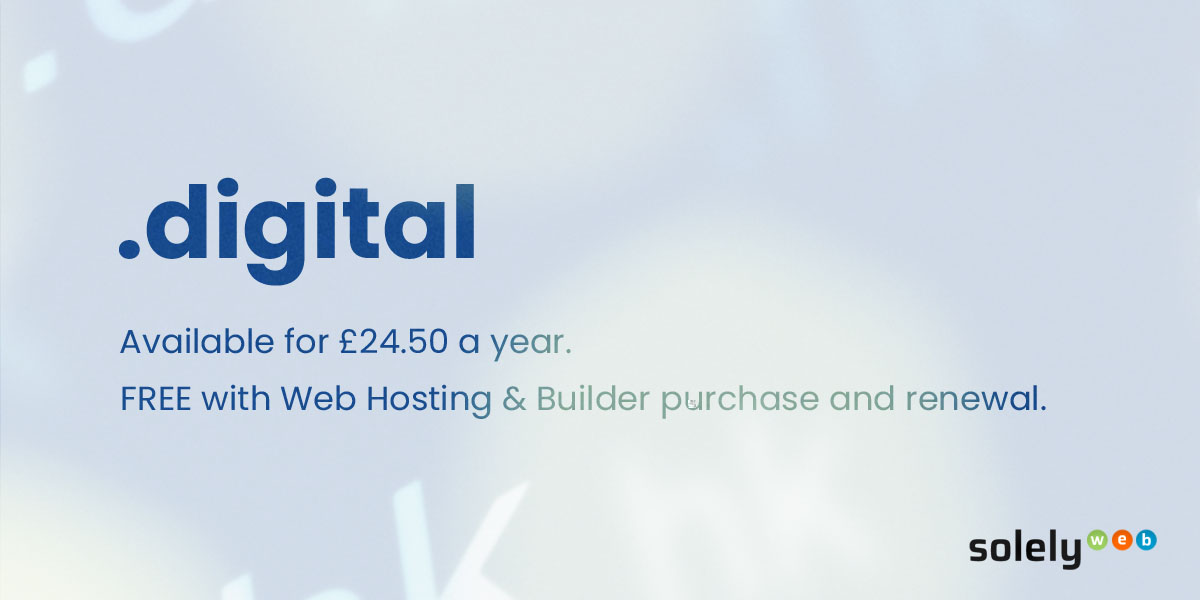 digital domain name extension