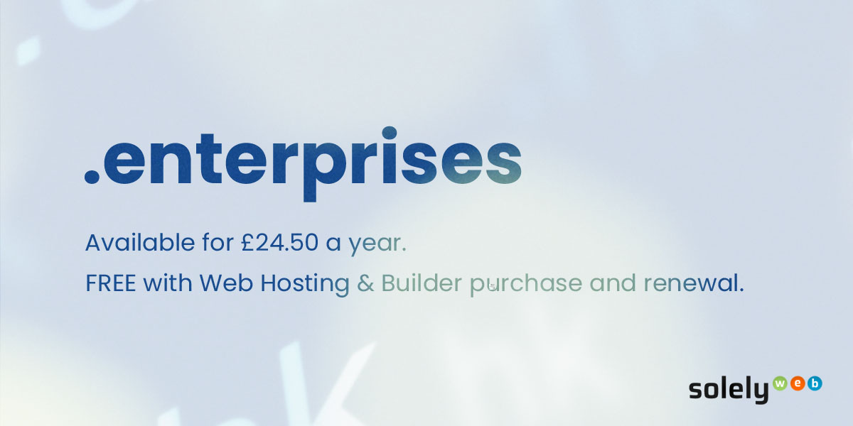 enterprises domain name extension
