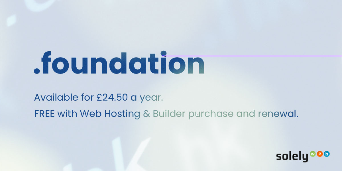 foundation domain name extension