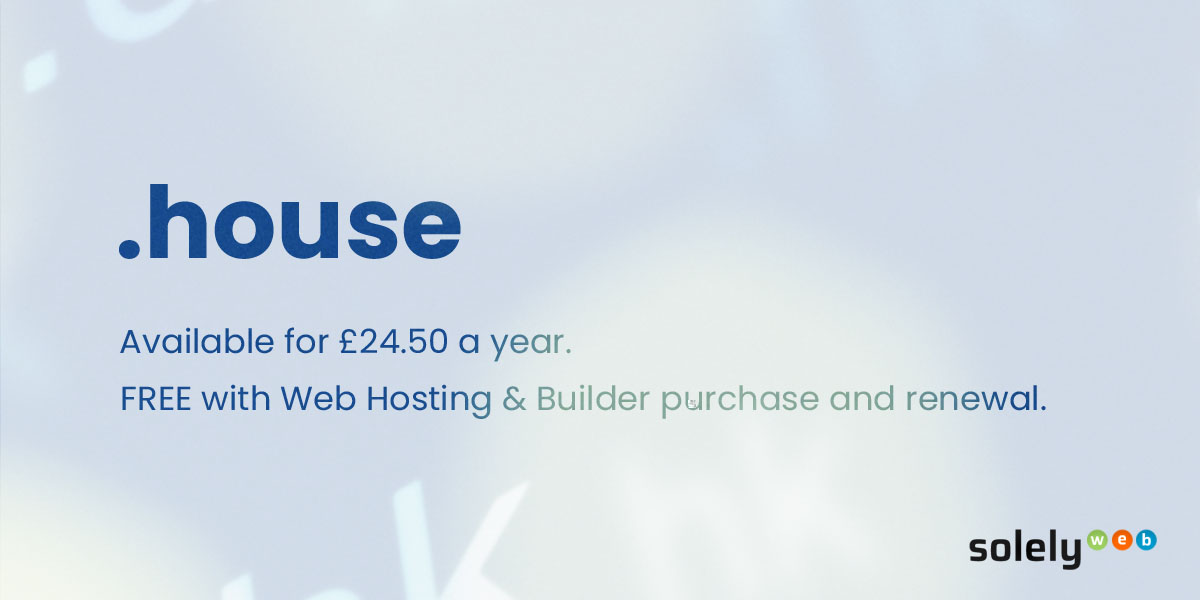 house domain name extension