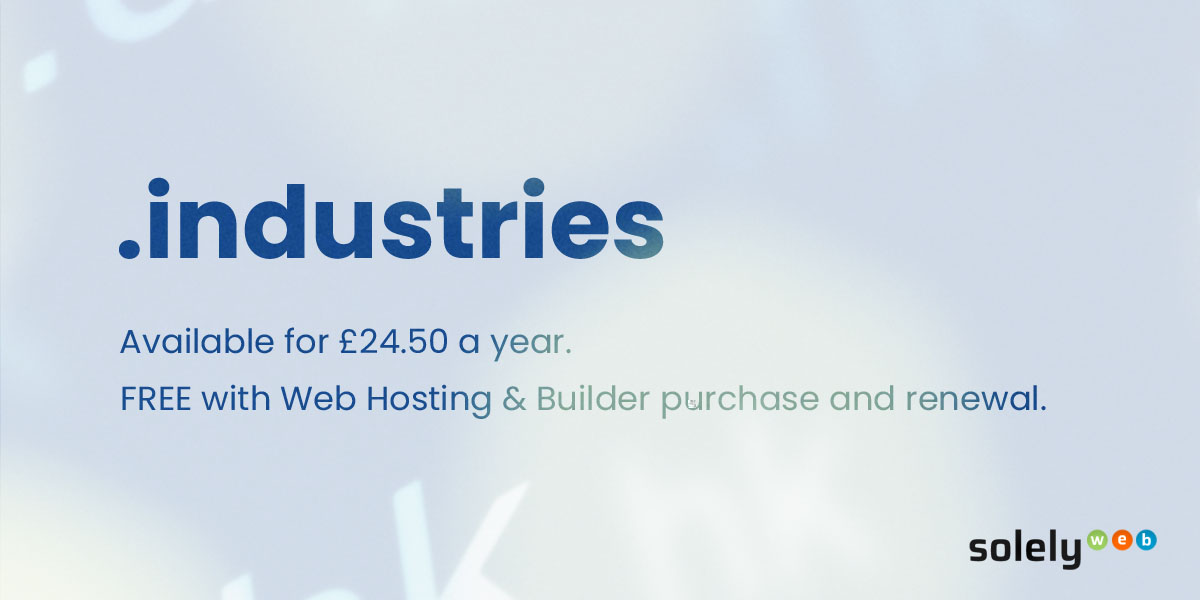 industries domain name extension