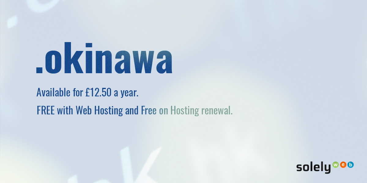 okinawa domain name extension