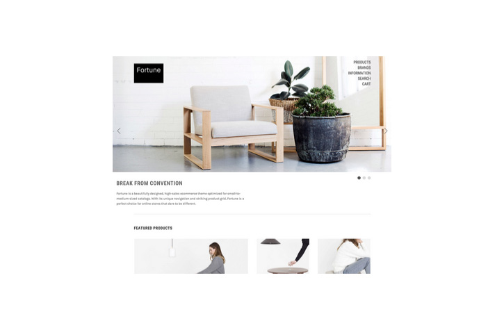 BigCommerce Online Store Template