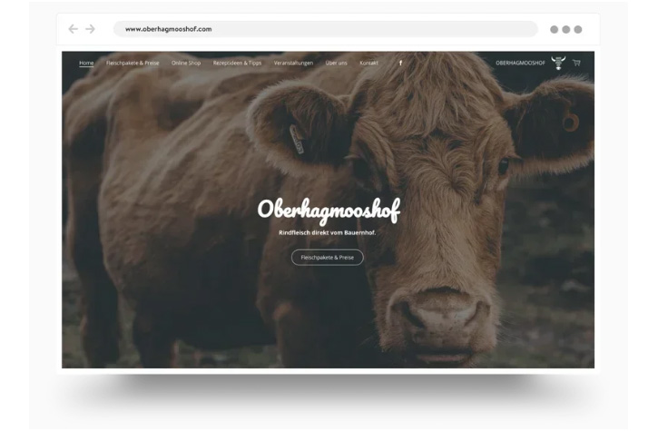 Jimdo Online Store Template
