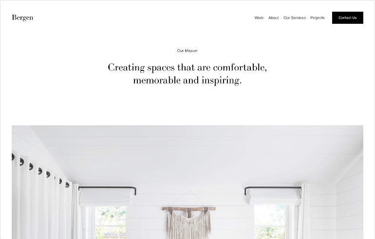 Squarespace Professional Services Website Template