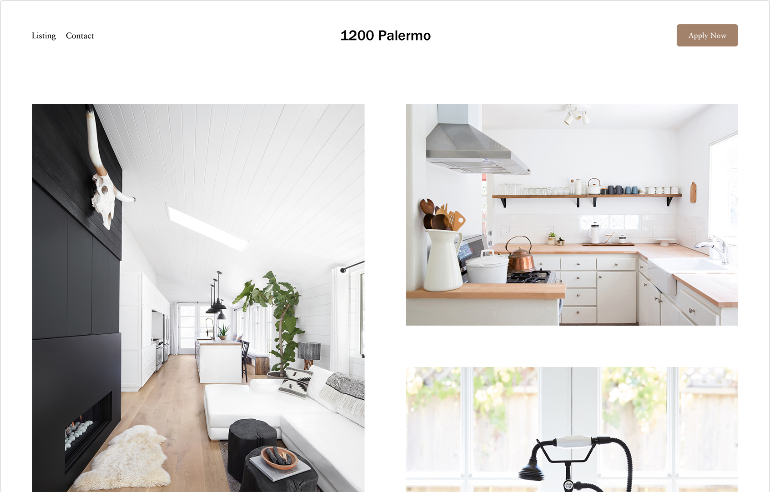 Squarespace Real Estate & Properties Template